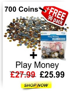 Play money deal 700 plus 96 free