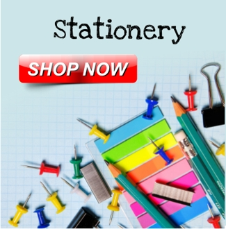 Stationery, Binding Combs, Binding Covers, Calculators,Correction Fluid,Desktop Accessories, Diaries, Planners, Display Books, Presentation Books, Envelopes, Labels, Filing Solutions, Hole Punches, Laminating Pouches, Laminating Rolls, Office Books, Writing Pads, Office Essentials, Office Stamps, Repositionable Notes, Rubber Bands, Rulers, Geometry Sets, Scissors, Staplers, Tackers, Staples, Storage Boxes, File Stores, Zippa Bags, Polyfiles