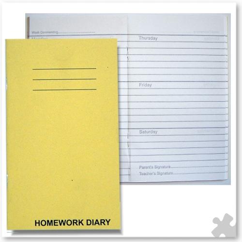 100 Homework Diaries [SDWD1] - £69 99 : Schools Direct