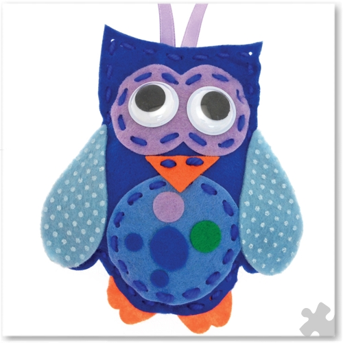 Hoots the Owl Woodland Buddies Sew Kit