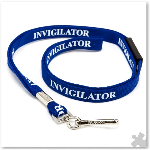 Invigilator Lanyards