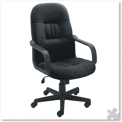 Executive Chair - Charcoal Fabric