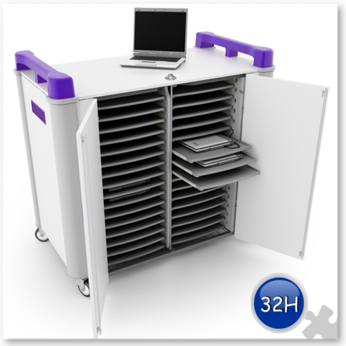32 bay Horizontal Laptop charging unit
