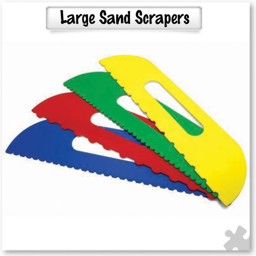 Large Sand Scrapers