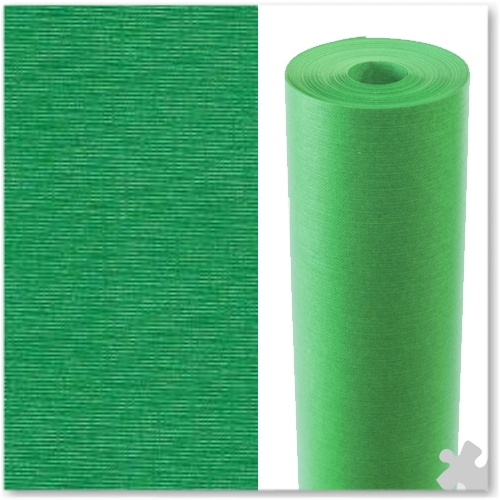Leaf Green Embossed Display Paper - 25m roll