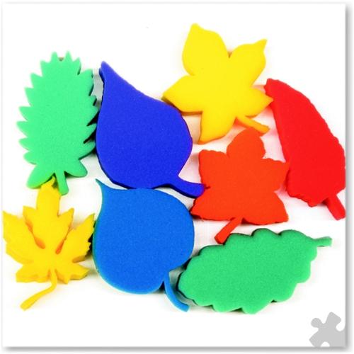 Leaves Paint Sponges