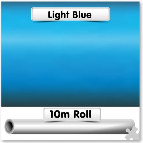 Light Blue Poster Paper 10m Roll