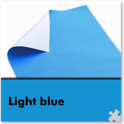 Light Blue Poster Paper Sheets
