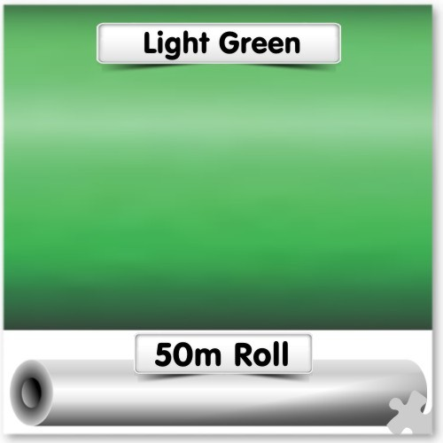 Light Green Poster Paper - 50m Roll