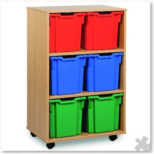 06 Jumbo Tray Storage Unit - Tall