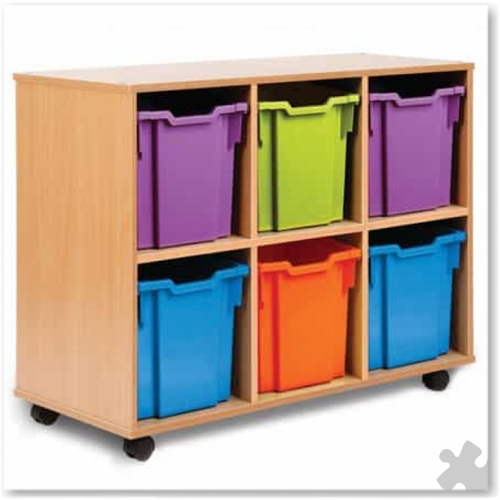 06 Jumbo Tray Storage Unit - Wide