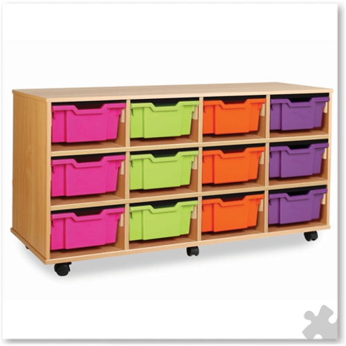 12 Deep Tray Combination Storage Unit