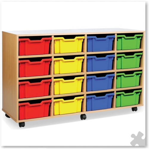 16 Deep Tray Combination Storage Unit