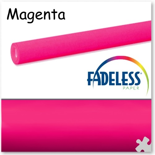 Magenta Fadeless Display Paper - 15m Roll