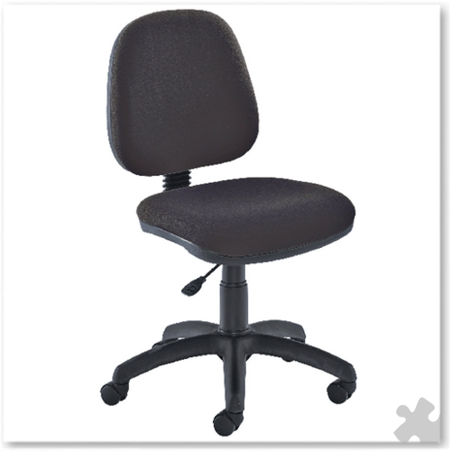 Medium Back Operator Chair in Charcoal