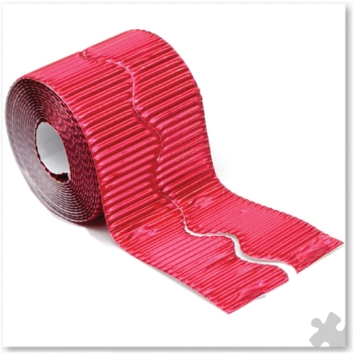 Metallic Red Bordette Border Rolls