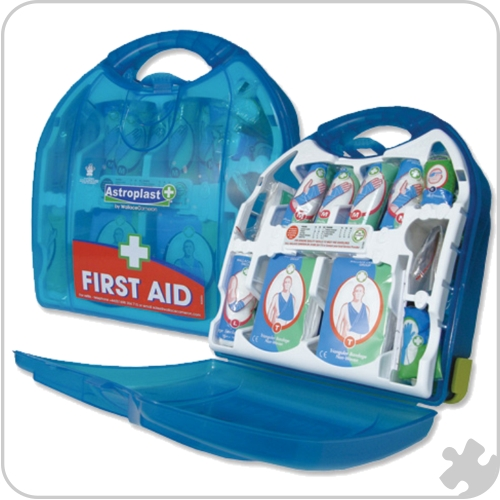 Mezzo HSE First-Aid Kit Dispenser, 20 Person