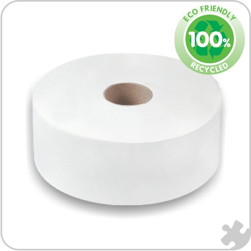 Premium Mini Jumbo Toilet Rolls, 60mm Core