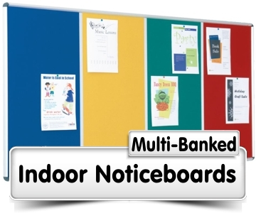 Multi-Banked Notice Boards