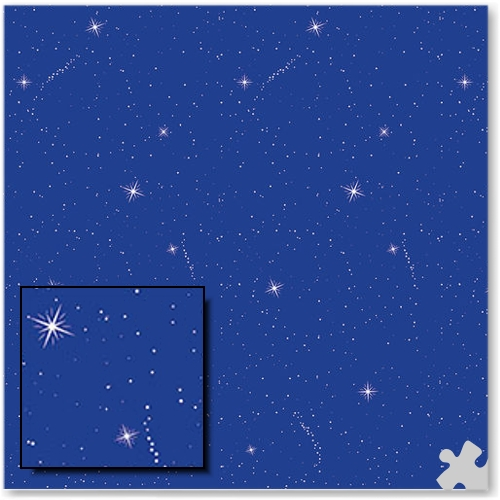 Night Sky Design Fadeless Display Paper - 15m