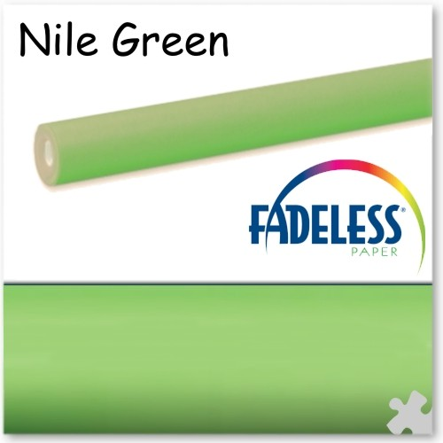 Nile Green Fadeless Display Paper - 15m Roll
