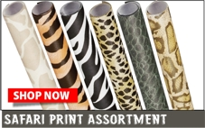 Safari print backing paper