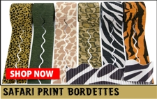 Safari print bordette