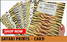 safari print card