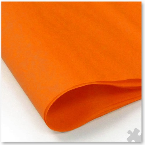 Orange Tissue Paper, 48 Sheets