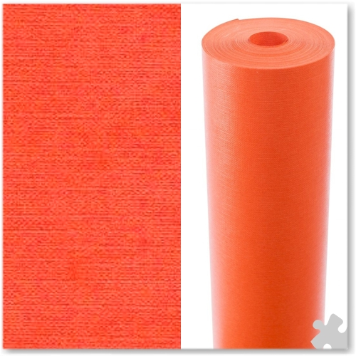 Orange Embossed Display Paper - 25m roll