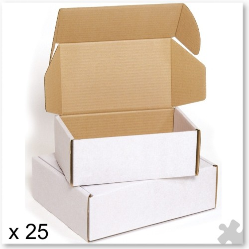 25 Flexocare Mailing Boxes - 220 x 110 x 80mm