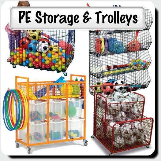PE Storage & Trolleys