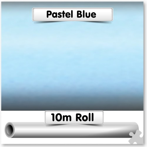 Pastel Blue Poster Paper 10m Roll