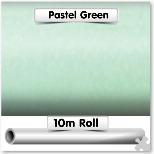 Pastel Green Poster Paper 10m Roll