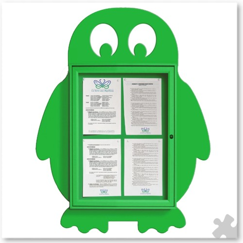 Penguin Shaped Notice Board