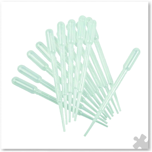 Pipettes, 15 pieces