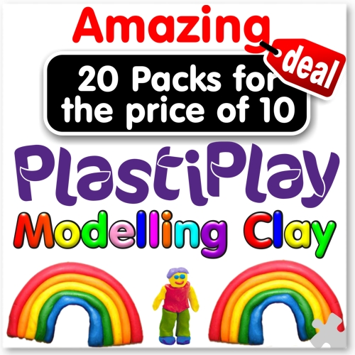 PlastiPlay Non-drying Modelling Clay Sale