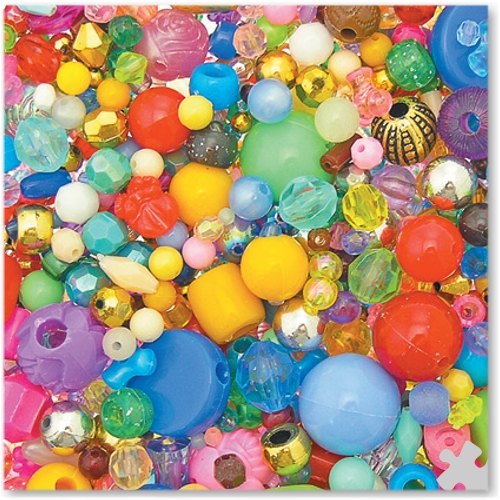 Bead Assortment, 450g Bag