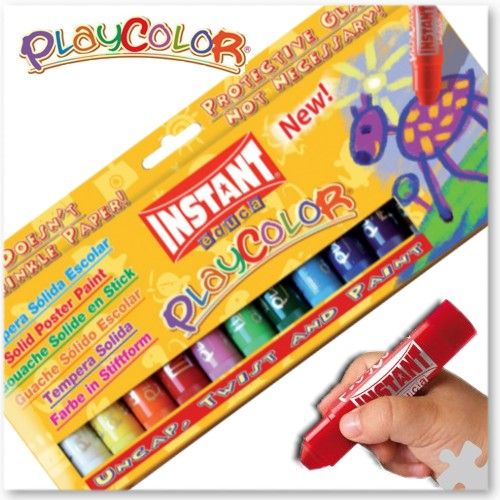 PlayColor Paint Sticks, Box of 12
