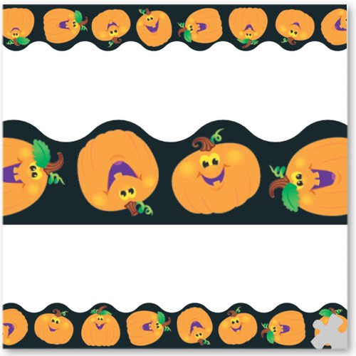 Pumpkin Pals Terrific Trimmer Borders
