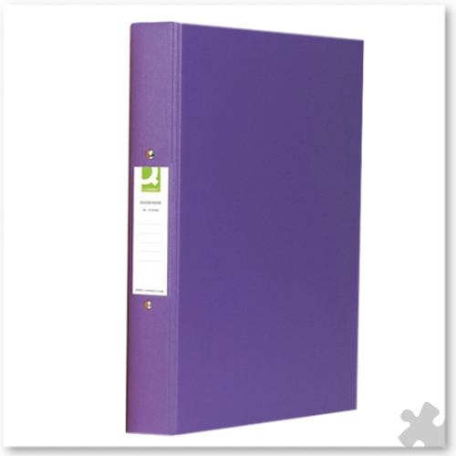 A4 Ring Binders, 10 Purple