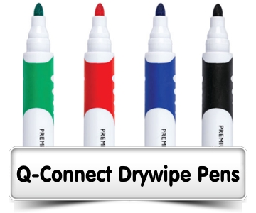 Q-Connect Drywipe Pens