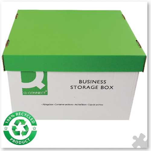10 Business Storage Boxes 335x400x250mm