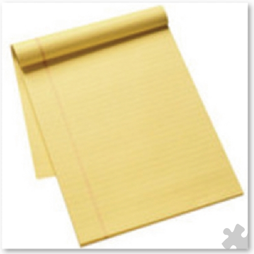 Yellow Executive A4 Notebooks