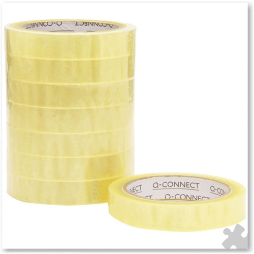Adhesive Tape - 19mm x 66m, 8 Roll Pack