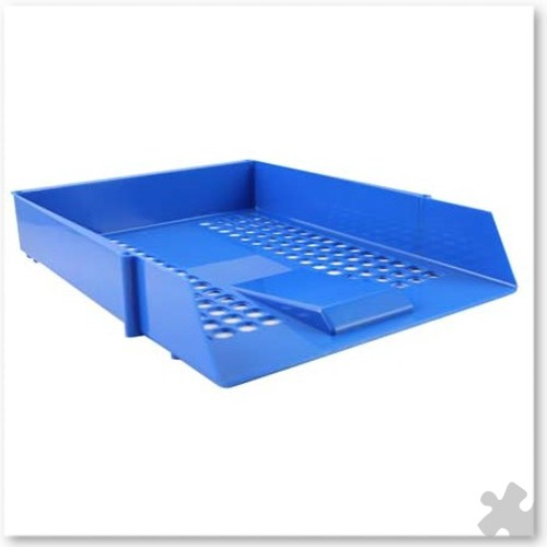 Blue Letter Tray