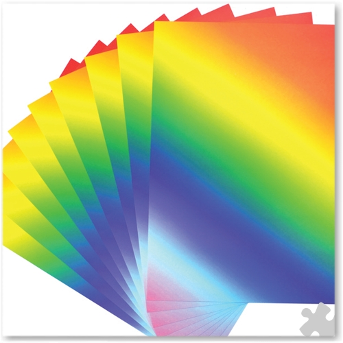 A4 Rainbow Card, 50 Sheets