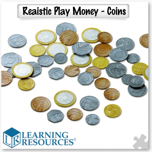 Realistic Play Money - Coins