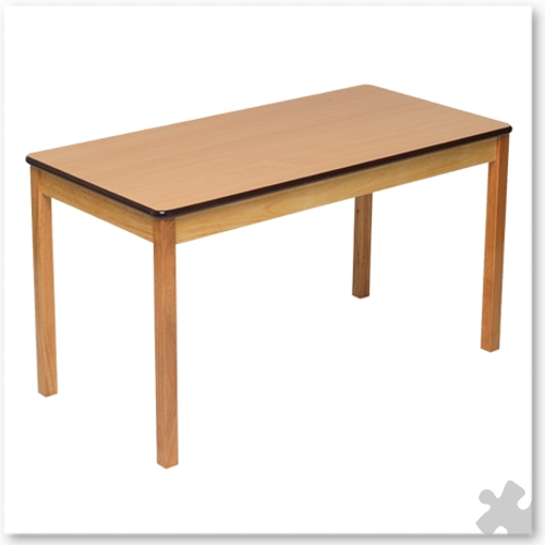 Rectangular Wooden Table in Beech