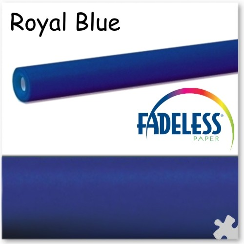 Royal Blue Fadeless Display Paper - 15m Roll